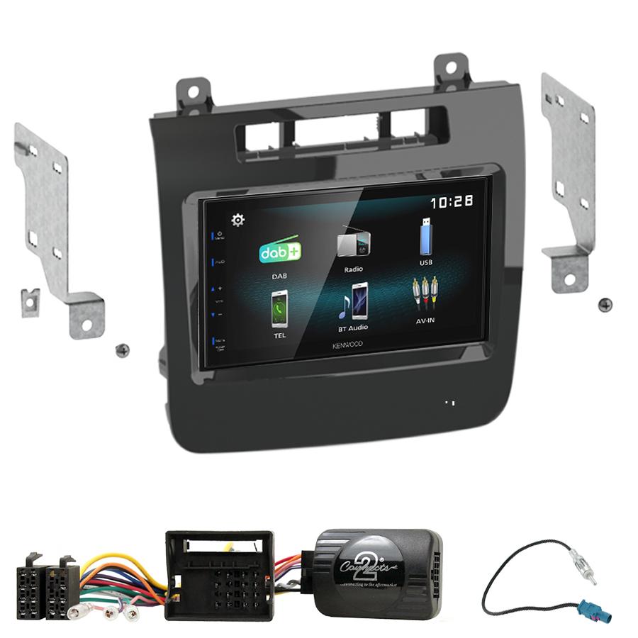 Kit d\'intégration Volkswagen Touareg de 04/2010 à 10/2014 + Autoradio multimédia à écran tactile