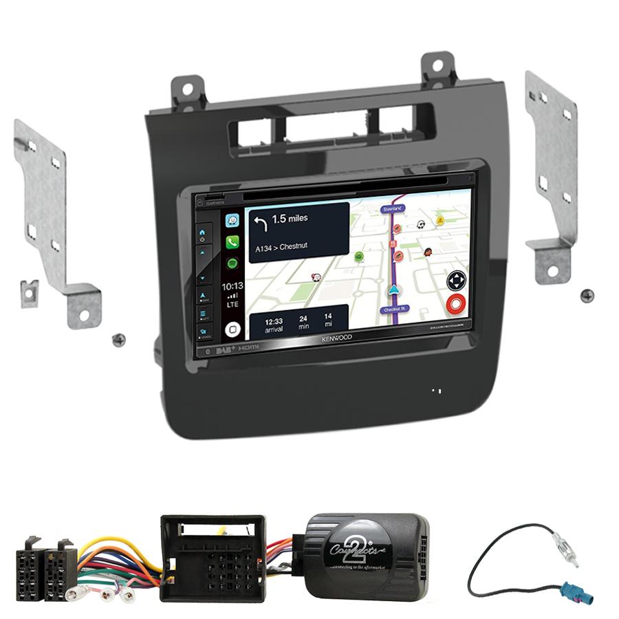 Kit d\'intégration Volkswagen Touareg de 04/2010 à 10/2014 + Autoradio tactile Navigation GPS