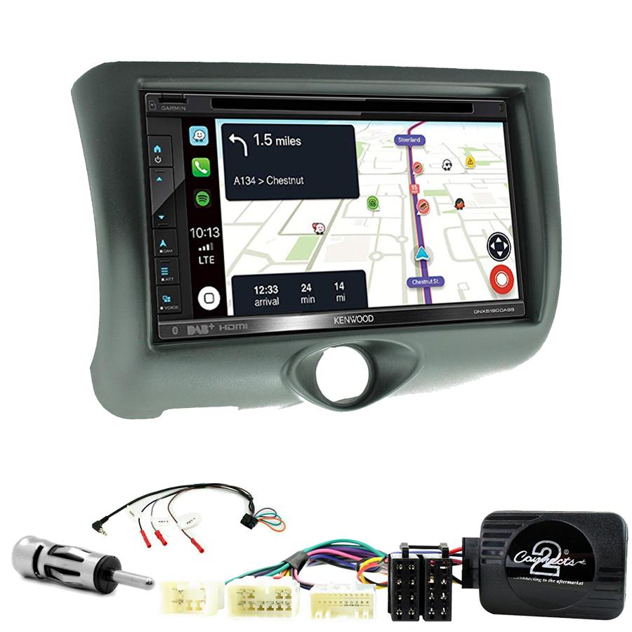 Kit d\'intégration Toyota Yaris de 04/1999 à 12/2005 + Autoradio tactile Navigation GPS