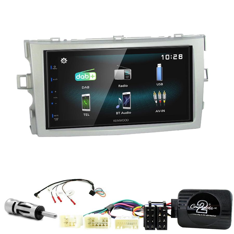 Kit d\'intégration Toyota Verso de 2009 à 2017 + Autoradio multimédia à écran tactile