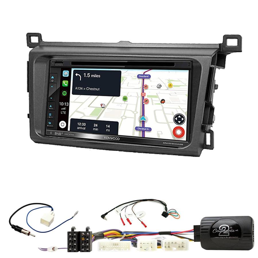Kit d\'intégration Toyota RAV4 de 2013 à 2018 + Autoradio tactile Navigation GPS
