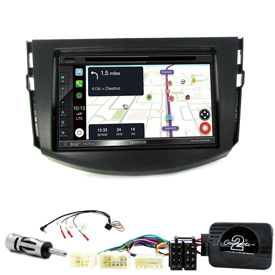 Kit d\'intégration Toyota RAV4 de 03/2006 à 03/2013 + Autoradio tactile Navigation GPS