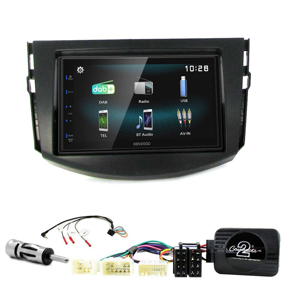 Kit d\'intégration Toyota RAV4 de 03/2006 à 03/2013 + Autoradio multimédia à écran tactile