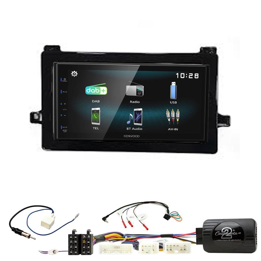 Kit d\'intégration Toyota Prius de 2016 à 2019 + Autoradio multimédia à écran tactile