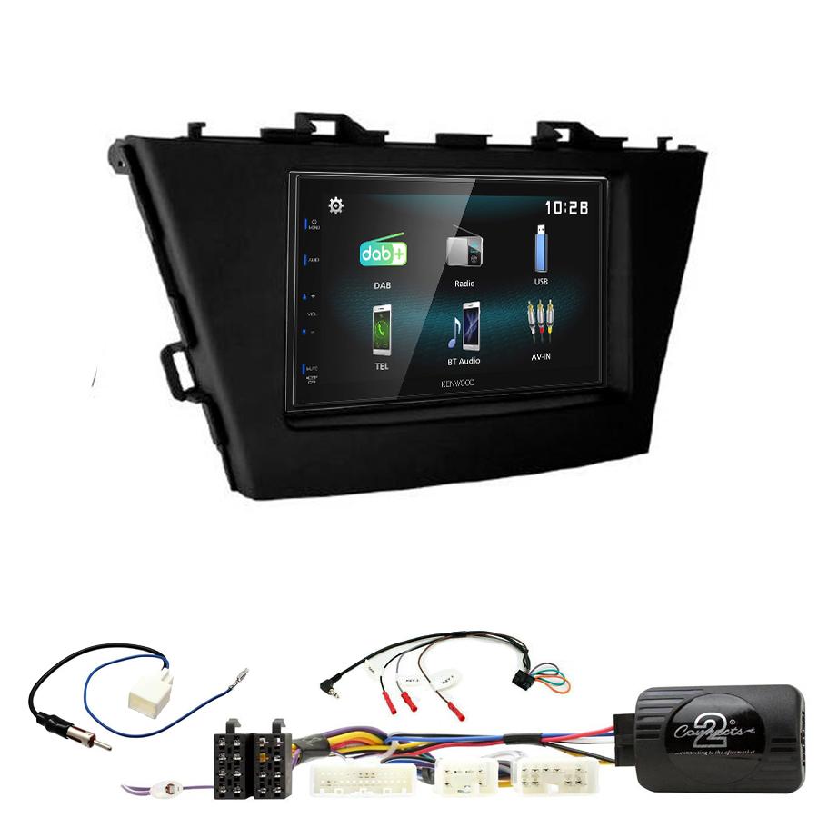 Kit d\'intégration Toyota Prius de 06/2012 à 2015 + Autoradio multimédia à écran tactile