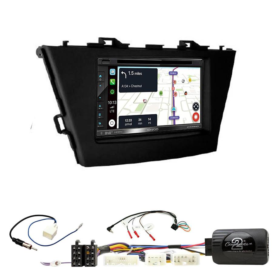 Kit d\'intégration Toyota Prius de 06/2012 à 2015 + Autoradio tactile Navigation GPS