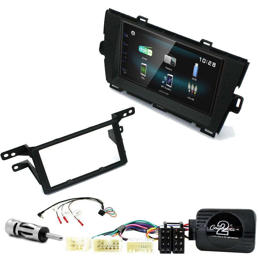 Kit d\'intégration Toyota Prius de 05/2009 à 2012 + Autoradio multimédia à écran tactile