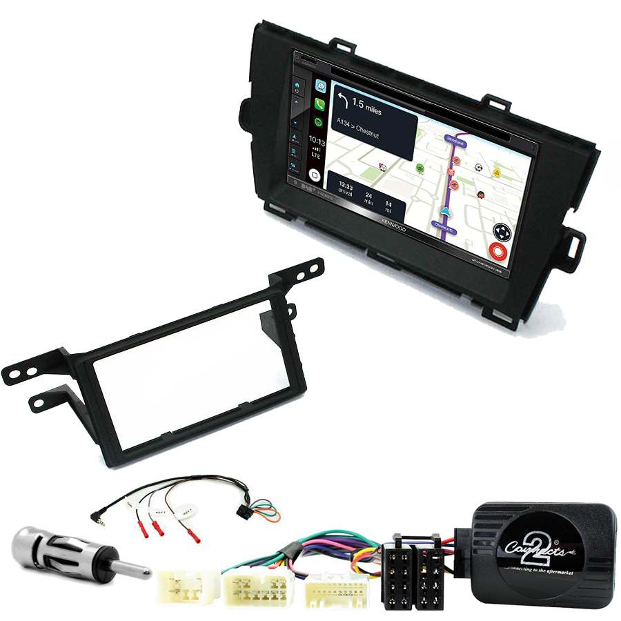 Kit d\'intégration Toyota Prius de 05/2009 à 2012 + Autoradio tactile Navigation GPS