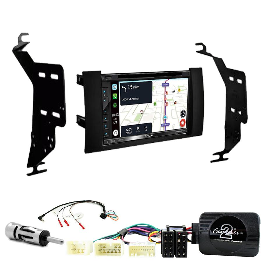 Kit d\'intégration Toyota Prius de 2004 à 2009 + Autoradio tactile Navigation GPS