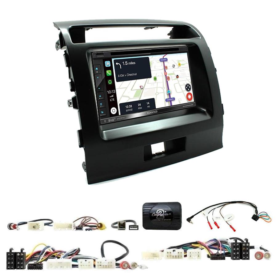 Kit d\'intégration Toyota Land Cruiser de 2008 à 2015 + Autoradio tactile Navigation GPS