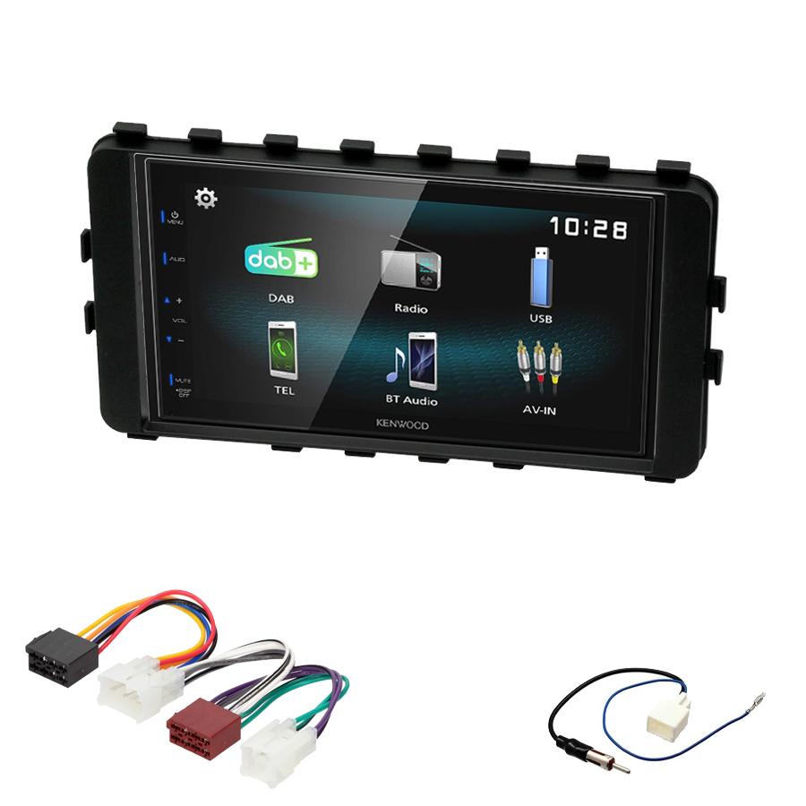 Kit d\'intégration Toyota IQ de 01/2009 à 2016 + Autoradio multimédia à écran tactile