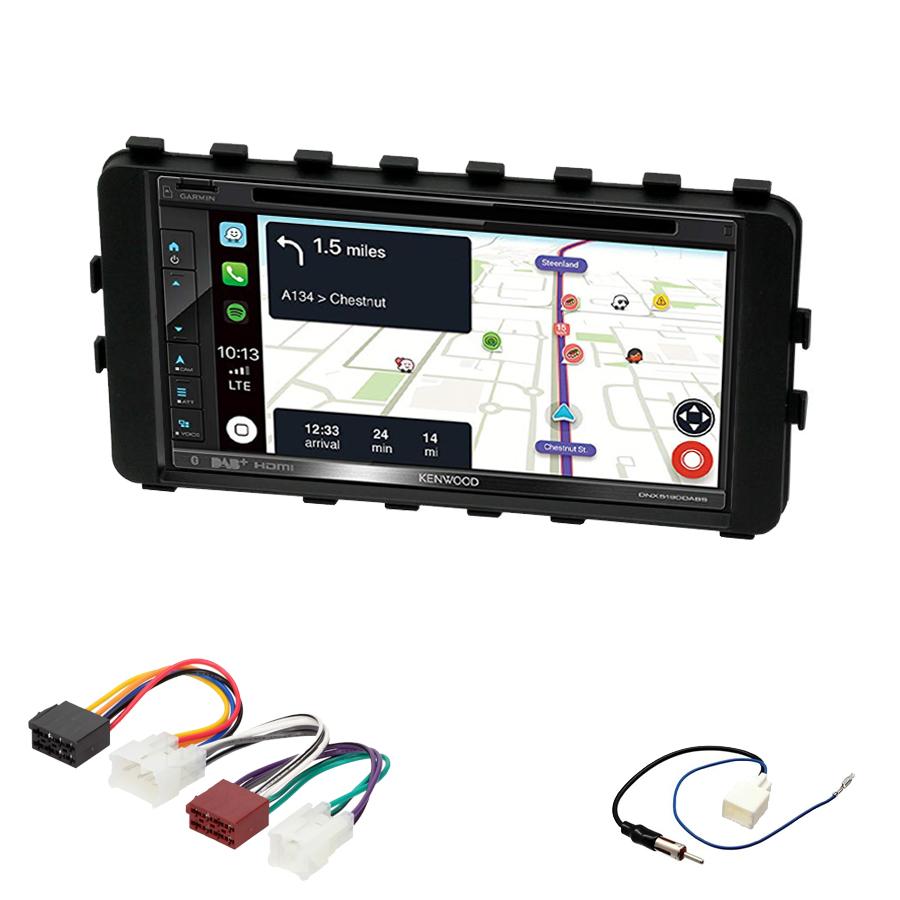 Kit d\'intégration Toyota IQ de 01/2009 à 2016 + Autoradio tactile Navigation GPS