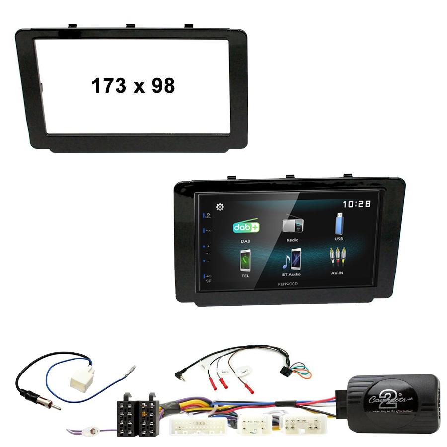 Kit d\'intégration Toyota Hilux depuis 2015 + Autoradio multimédia à écran tactile
