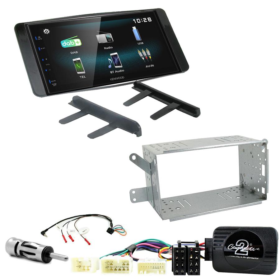 Kit d\'intégration Toyota Hilux de 2007 à 2012 + Autoradio multimédia à écran tactile
