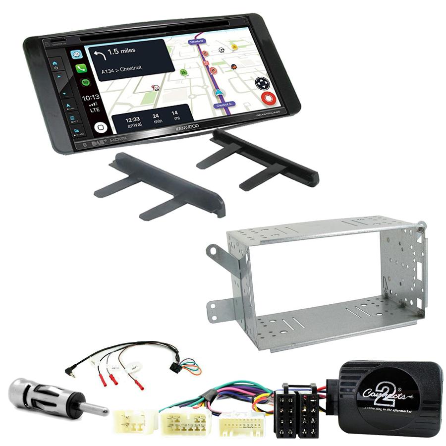Kit d\'intégration Toyota Hilux de 2007 à 2012 + Autoradio tactile Navigation GPS