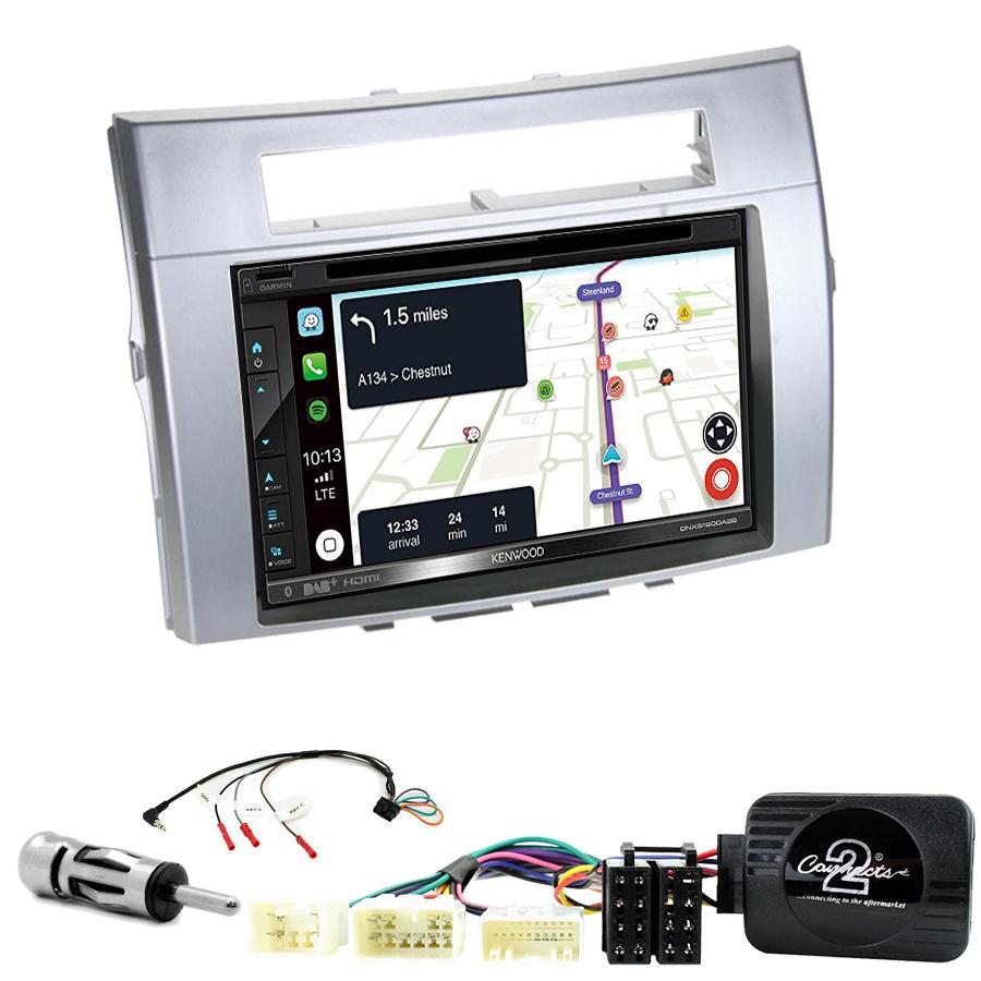 Kit d\'intégration Toyota Corolla Verso de 04/2004 à 03/2009 + Autoradio tactile Navigation GPS