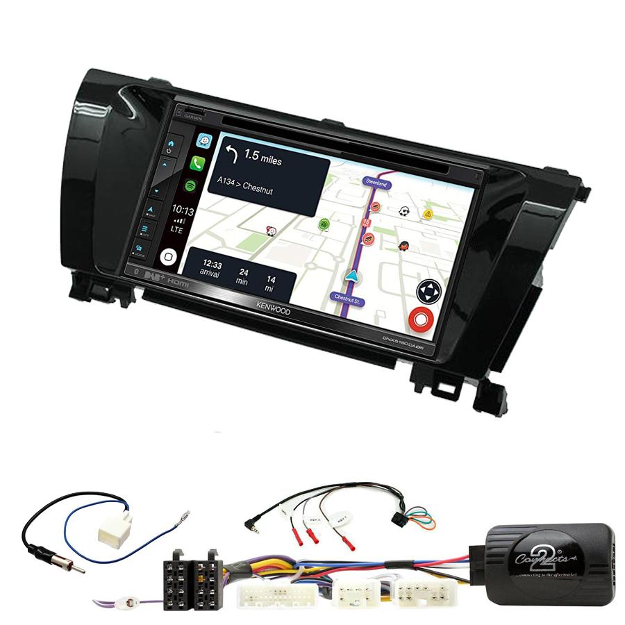 Kit d\'intégration Toyota Corolla de 2014 à 2018 + Autoradio tactile Navigation GPS