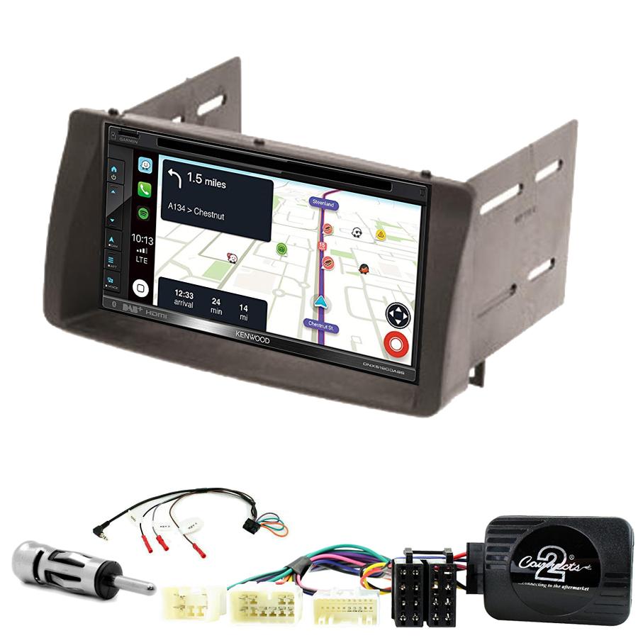 Kit d\'intégration Toyota Corolla de 2002 à 2006 + Autoradio tactile Navigation GPS