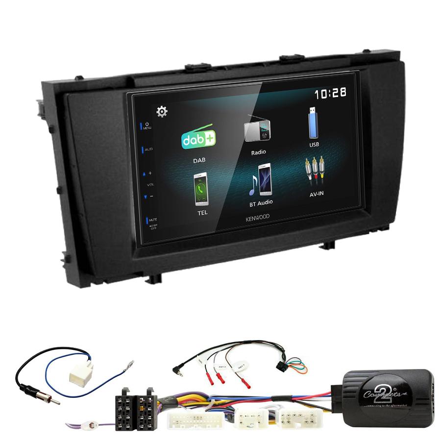 Kit d\'intégration Toyota Avensis de 2009 à 2013 + Autoradio multimédia à écran tactile
