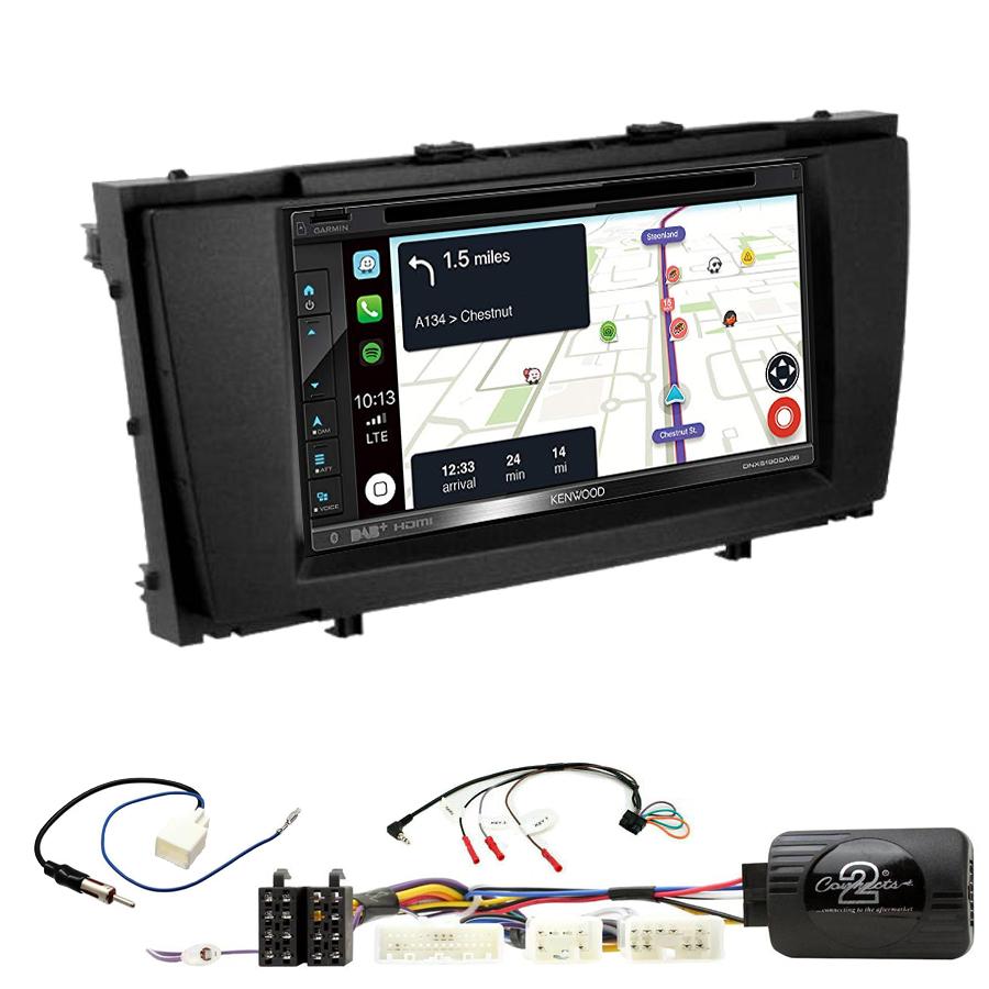 Kit d\'intégration Toyota Avensis de 2009 à 2013 + Autoradio tactile Navigation GPS