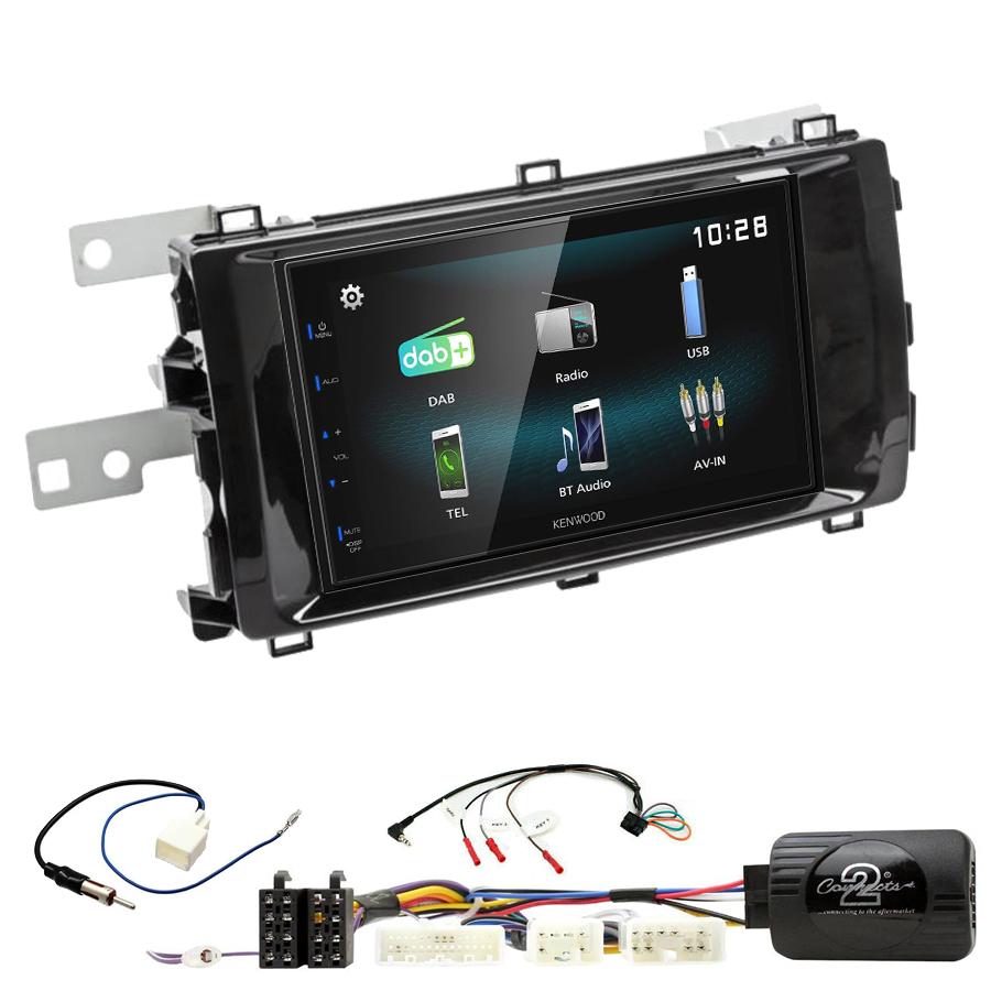 Kit d\'intégration Toyota Auris de 2013 à 2015 + Autoradio multimédia à écran tactile