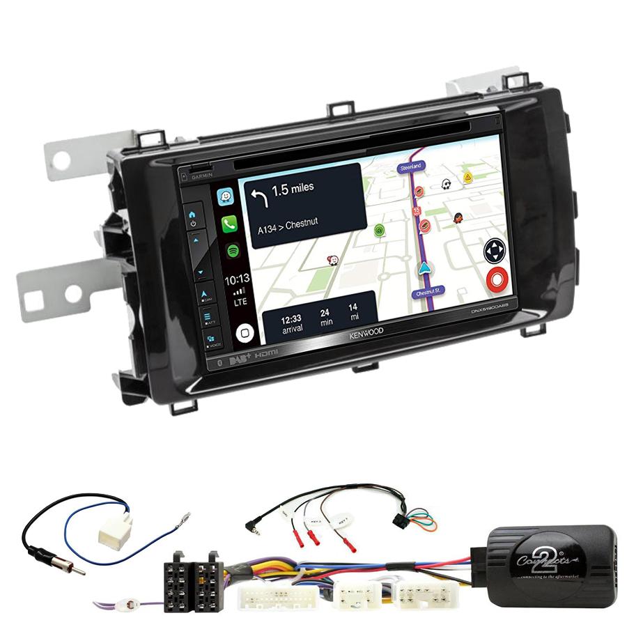 Kit d\'intégration Toyota Auris de 2013 à 2015 + Autoradio tactile Navigation GPS