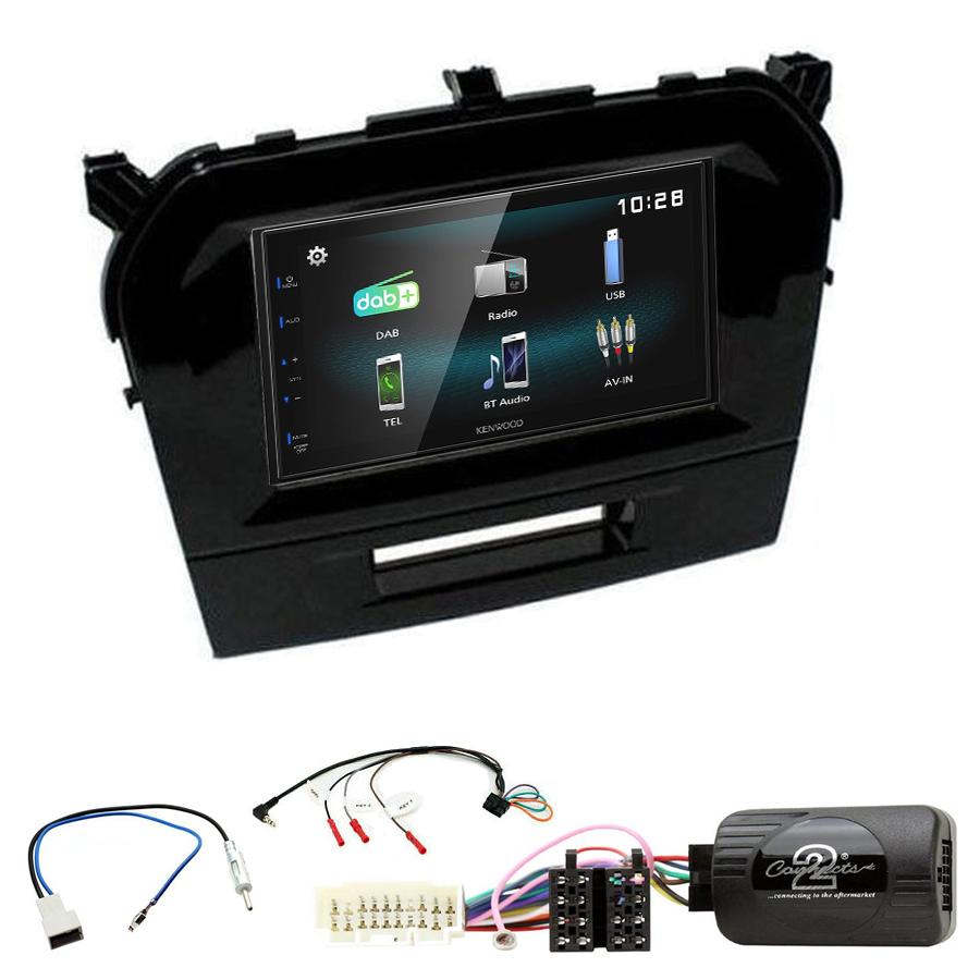Kit d\'intégration Suzuki Vitara de 04/2015 à 2020 + Autoradio multimédia à écran tactile