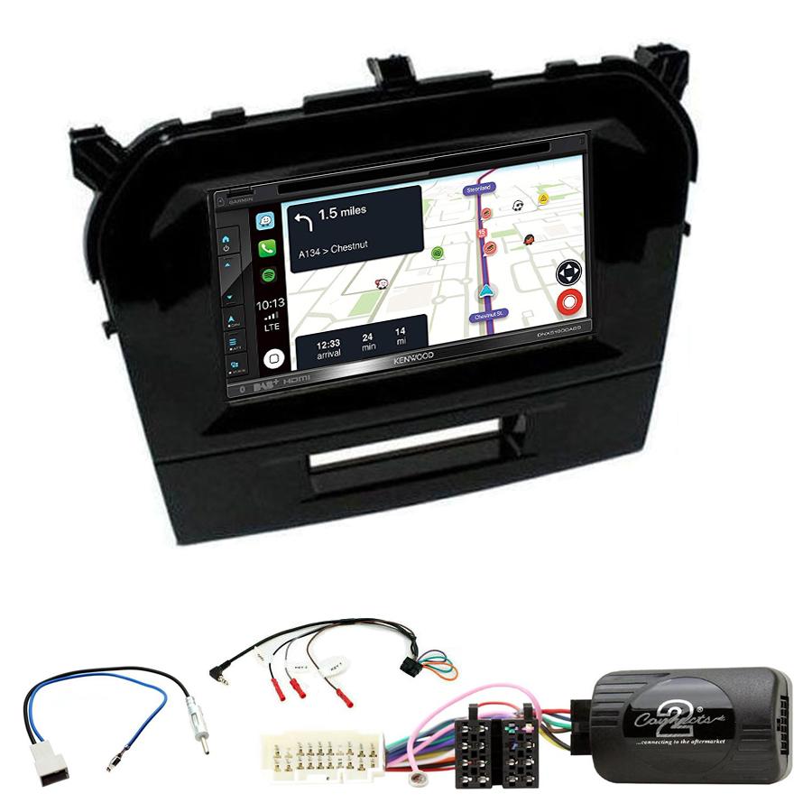 Kit d\'intégration Suzuki Vitara de 04/2015 à 2020 + Autoradio tactile Navigation GPS