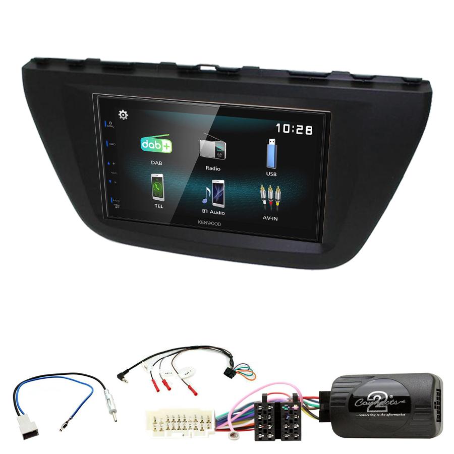Kit d\'intégration Suzuki SX4 S-Cross depuis 2013 + Autoradio multimédia à écran tactile