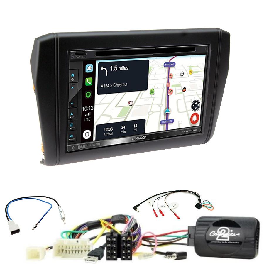 Kit d\'intégration Suzuki Swift depuis 2017 + Autoradio tactile Navigation GPS