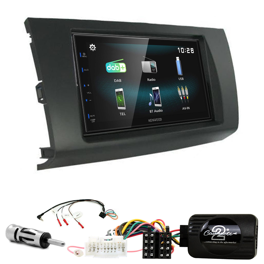 Kit d\'intégration Suzuki Swift de 02/2005 à 08/2010 + Autoradio multimédia à écran tactile