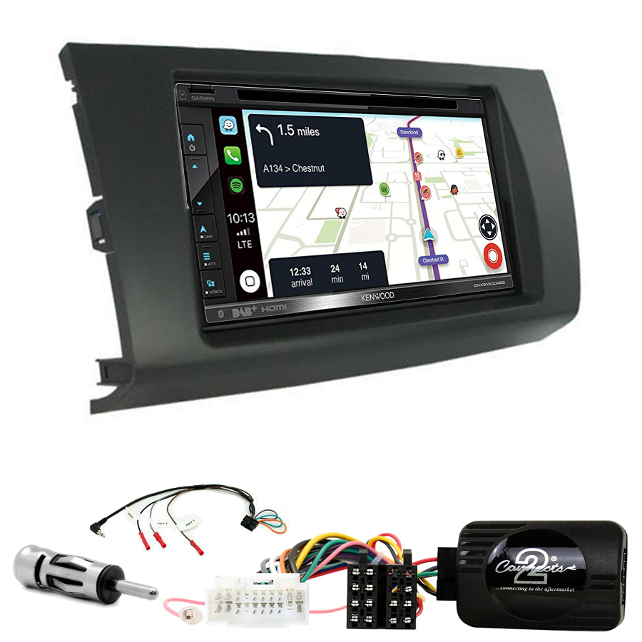 Kit d\'intégration Suzuki Swift de 02/2005 à 08/2010 + Autoradio tactile Navigation GPS