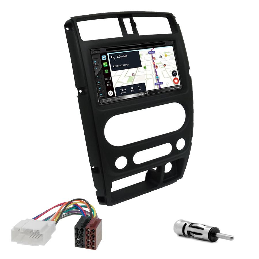 Kit d\'intégration Suzuki Jimny de 2008 à 2019 + Autoradio tactile Navigation GPS