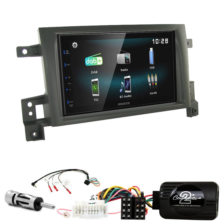 Kit d\'intégration Suzuki Grand Vitara de 09/2005 à 2011 + Autoradio multimédia à écran tactile