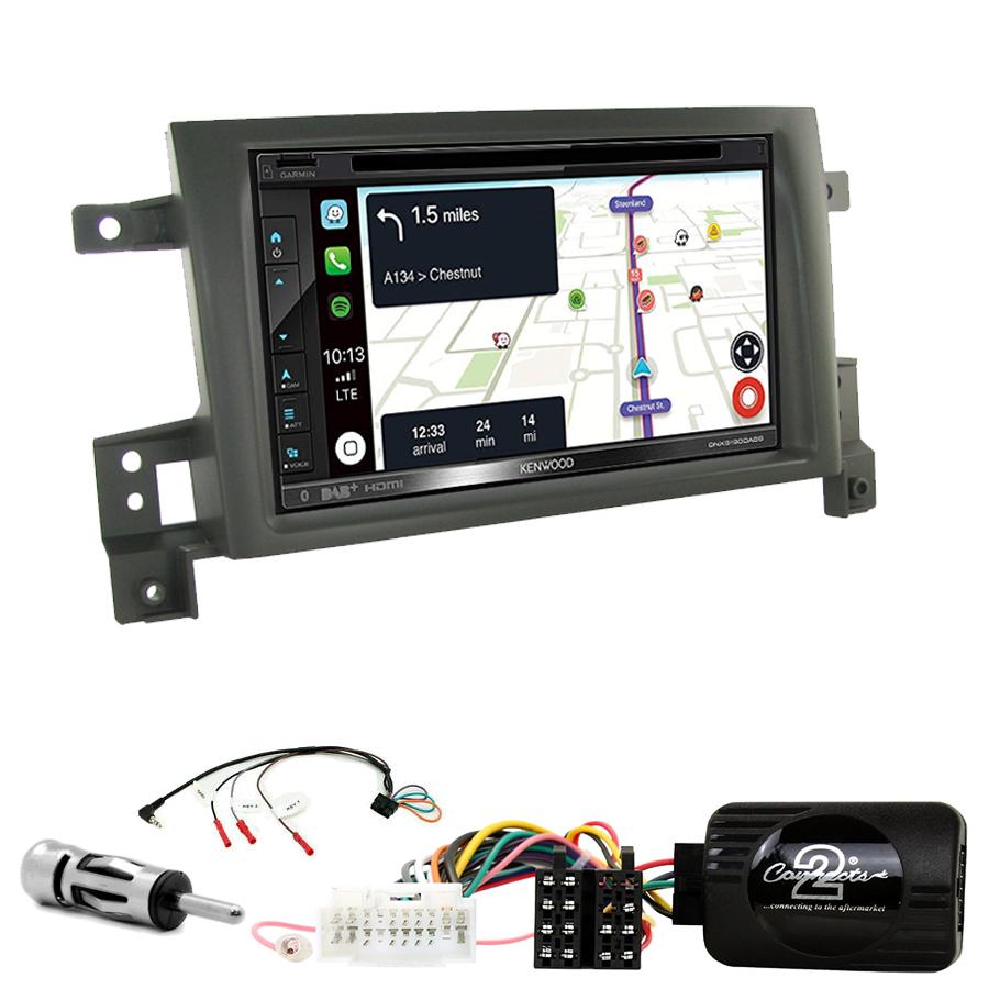 Kit d\'intégration Suzuki Grand Vitara de 09/2005 à 2011 + Autoradio tactile Navigation GPS
