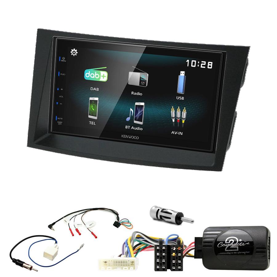 Kit d\'intégration Subaru Outback et Legacy de 2009 à 2014 + Autoradio multimédia à écran tactile
