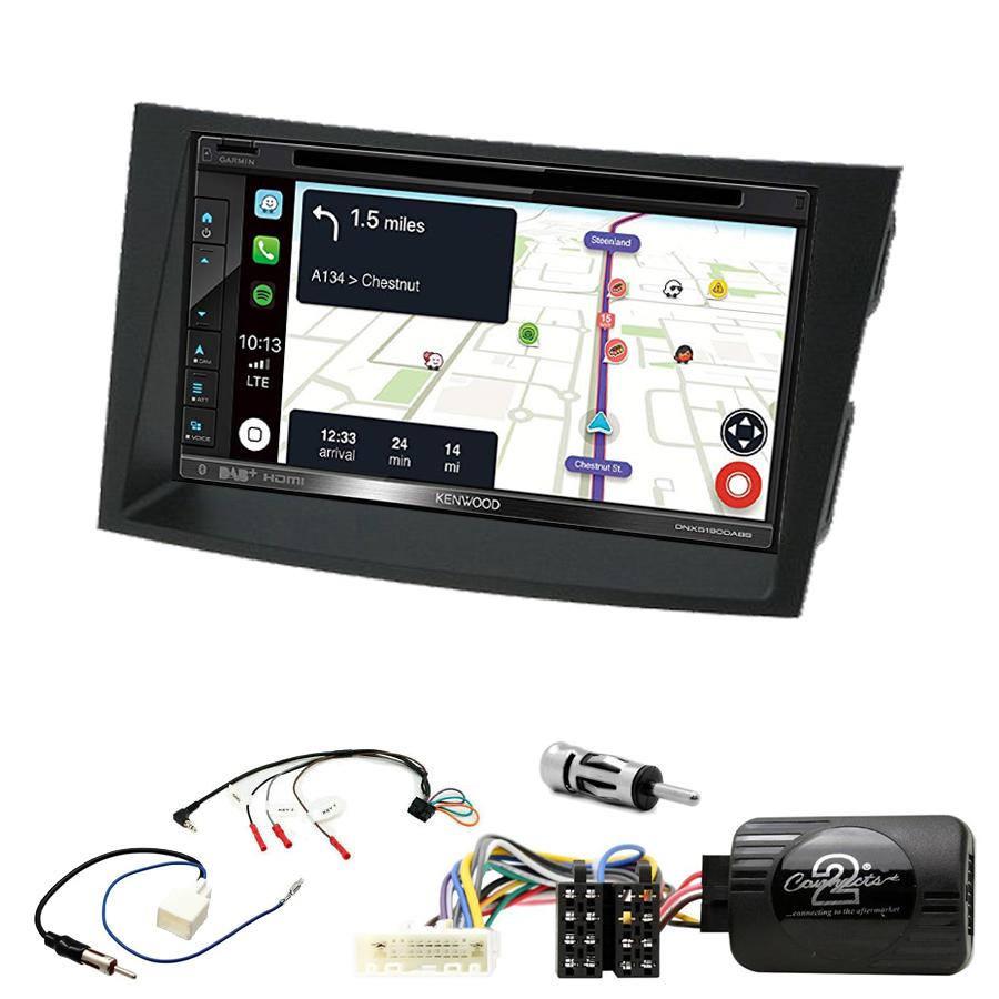 Kit d\'intégration Subaru Outback et Legacy de 2009 à 2014 + Autoradio tactile Navigation GPS