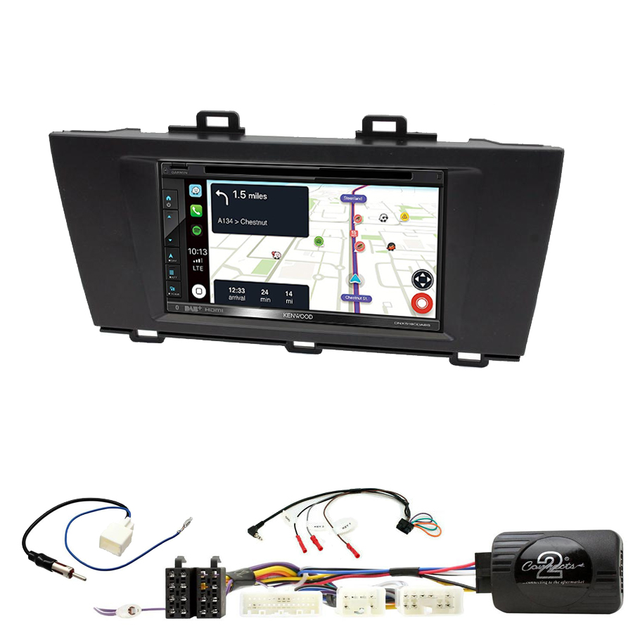 Kit d\'intégration Subaru Outback de 2015 à 2019 + Autoradio tactile Navigation GPS
