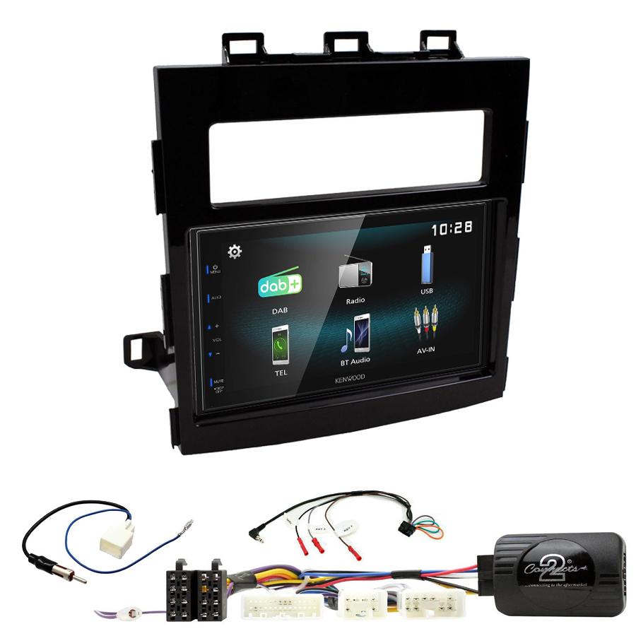 Kit d\'intégration Subaru Impreza depuis 2017 + Autoradio multimédia à écran tactile