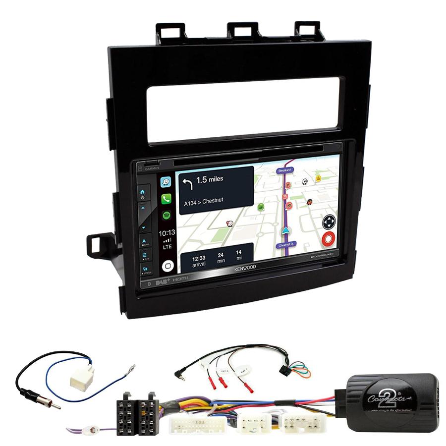 Kit d\'intégration Subaru Impreza depuis 2017 + Autoradio tactile Navigation GPS