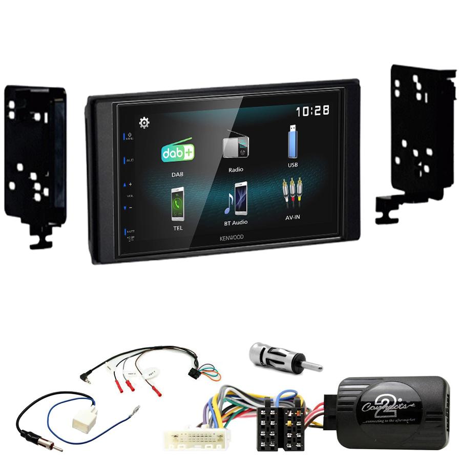 Kit d\'intégration Subaru Impreza, Forester et XV + Autoradio multimédia à écran tactile