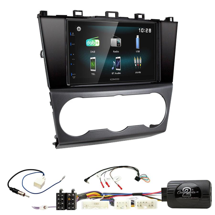 Kit d\'intégration Subaru Forester de 2016 à 2018 + Autoradio multimédia à écran tactile