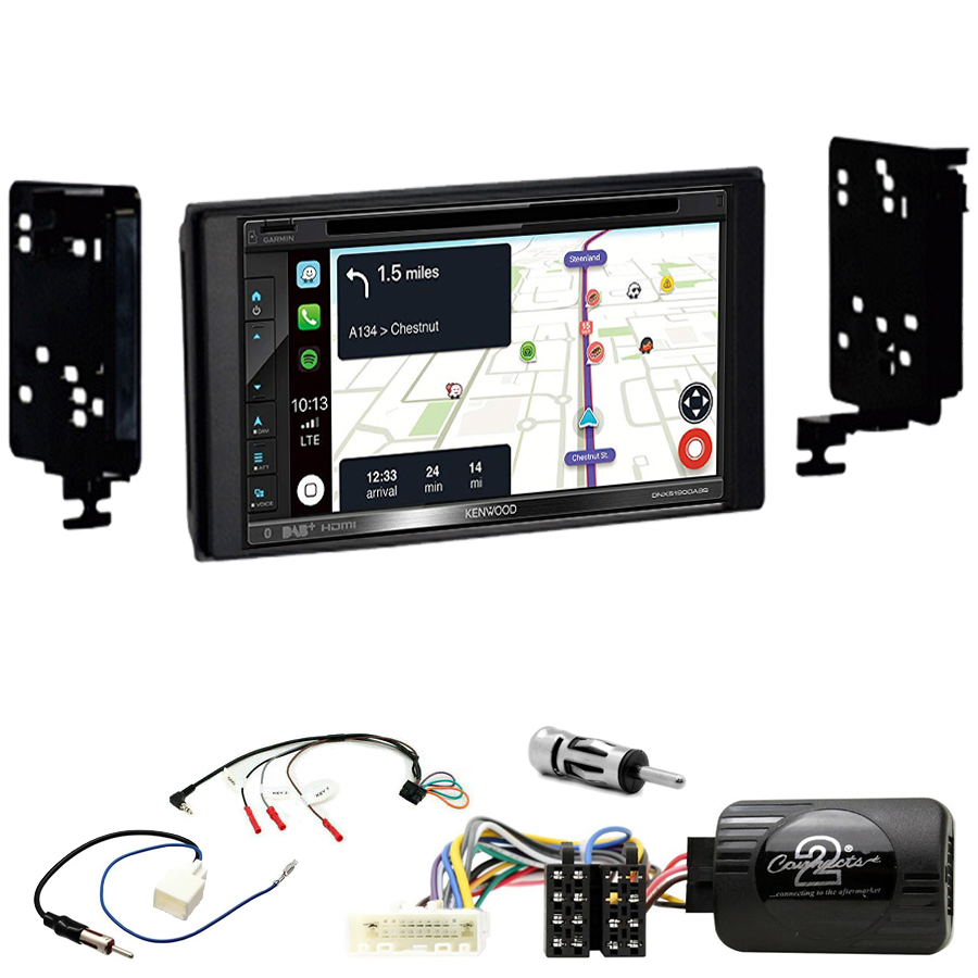 Kit d\'intégration Subaru Impreza, Forester et XV + Autoradio tactile Navigation GPS