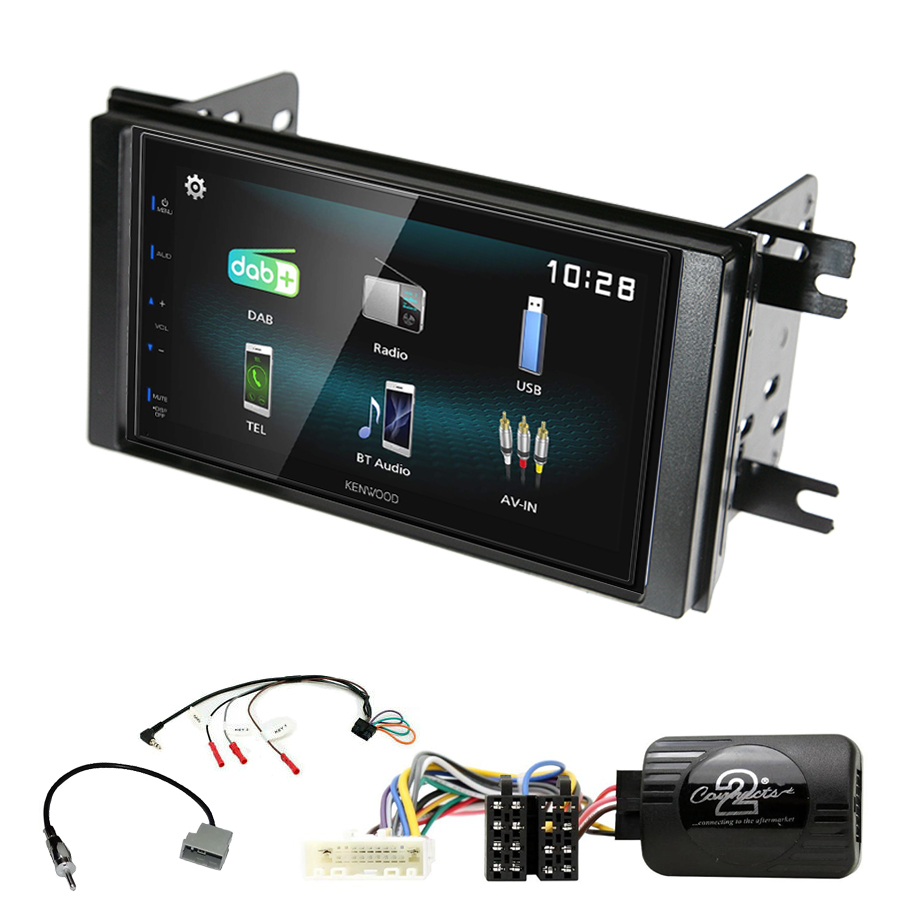 Kit d\'intégration Subaru Impreza de 2007 à 2012 + Autoradio multimédia à écran tactile