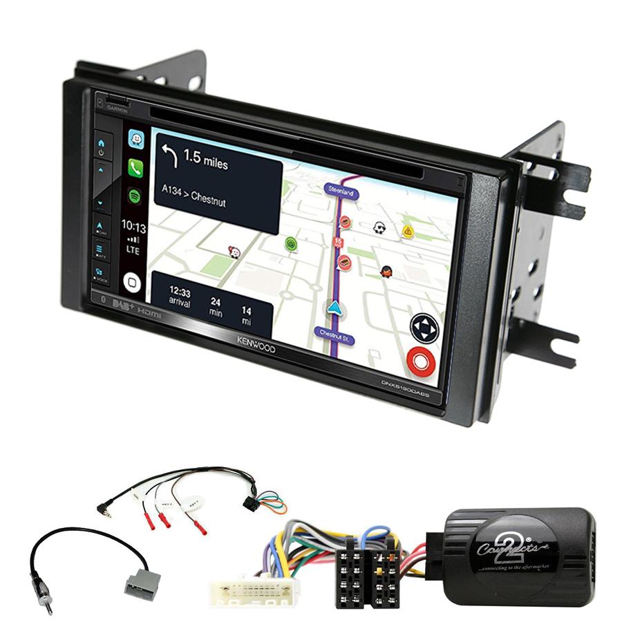Kit d\'intégration Subaru Impreza de 2007 à 2012 + Autoradio tactile Navigation GPS