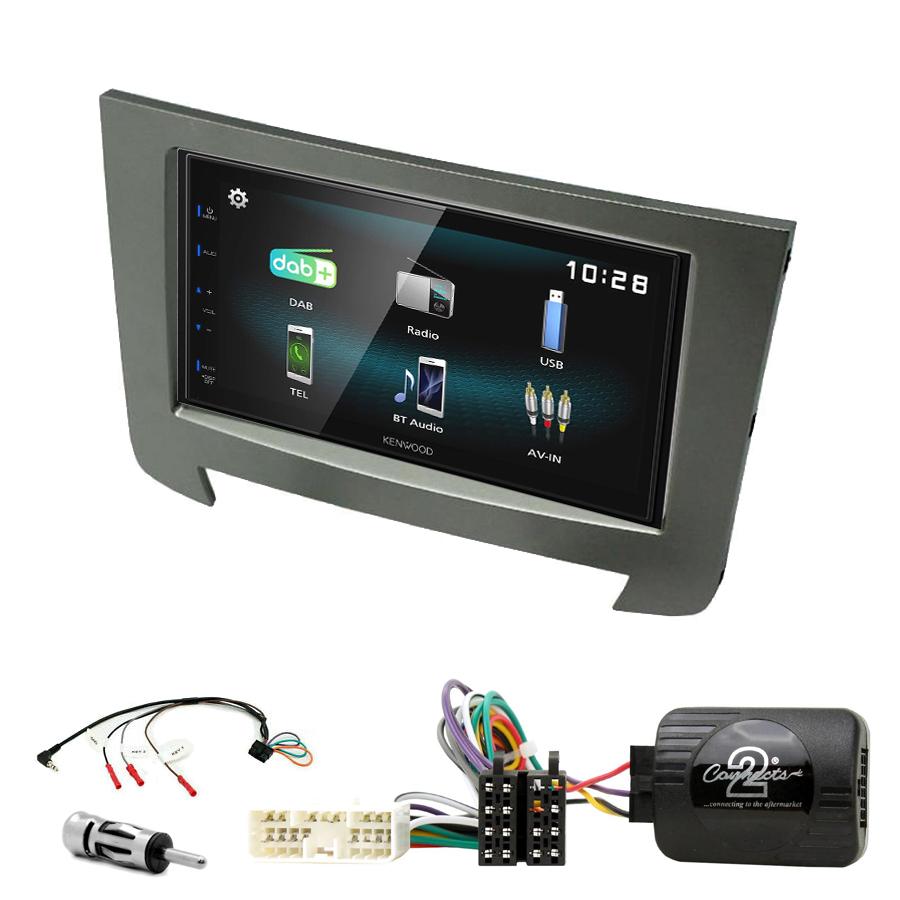 Kit d\'intégration Ssangyong Rexton de 2013 à 2017 + Autoradio multimédia à écran tactile