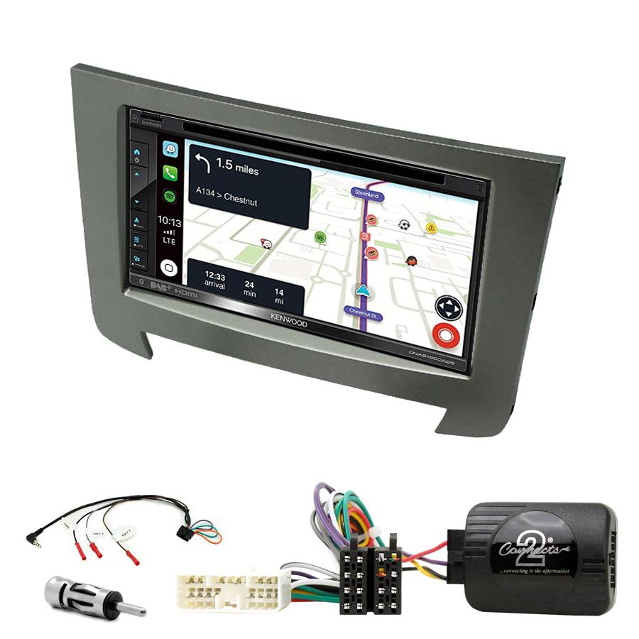 Kit d\'intégration Ssangyong Rexton de 2013 à 2017 + Autoradio tactile Navigation GPS