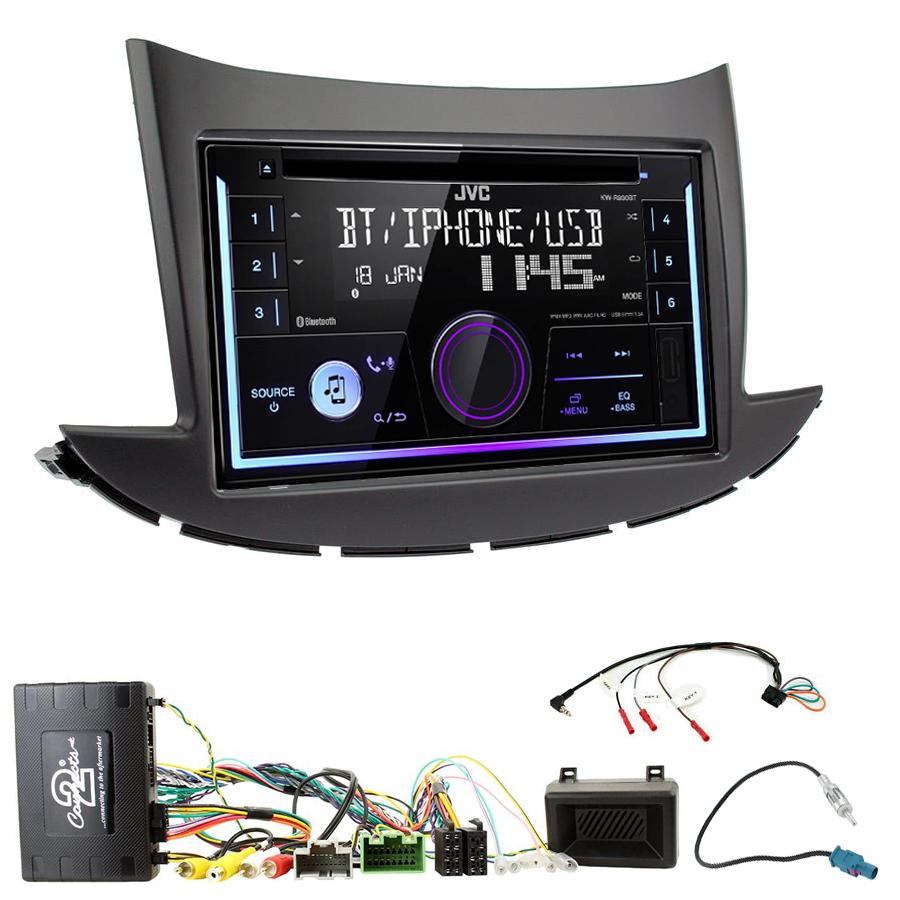 Kit d\'intégration Chevrolet Trax depuis 2017 + Autoradio multimédia USB/Bluetooth