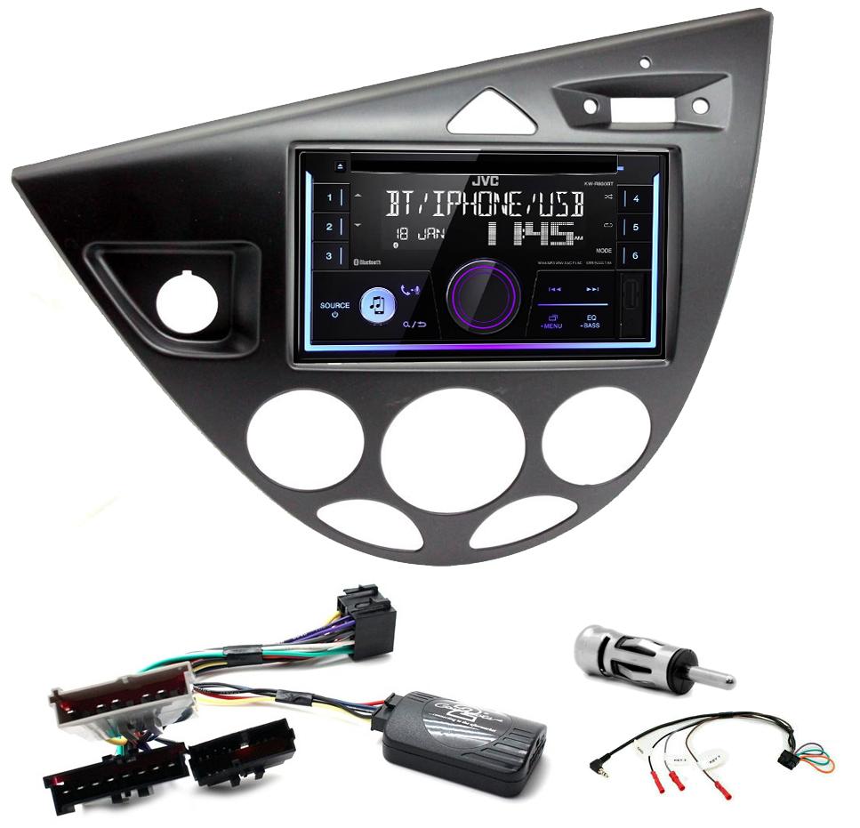 Kit d\'intégration Ford Focus de 1999 à 2004 + Autoradio multimédia USB/Bluetooth