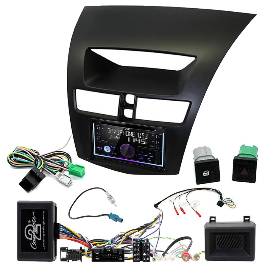 Kit d\'intégration Mazda BT50 de 2012 à 2017 + Autoradio multimédia USB/Bluetooth